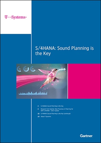 Gartner's 2017 Best Practices in Planning for SAP S/4HANA